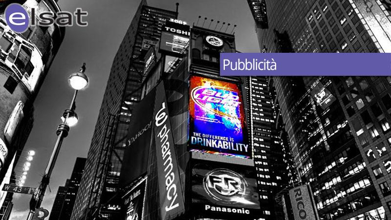 ELSAT comunicazione - Area gestione servizi di pubblicità